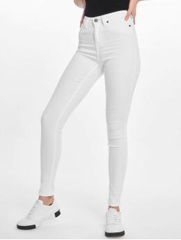 Noisy May Skinny Jeans nmLexi bílý