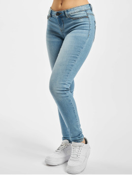 Noisy May Skinny jeans nmEve Low Waist VI059LB blå
