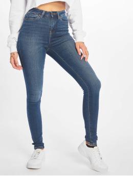 Noisy May Skinny jeans nmLexi HR Denim CR008DB 2B blauw