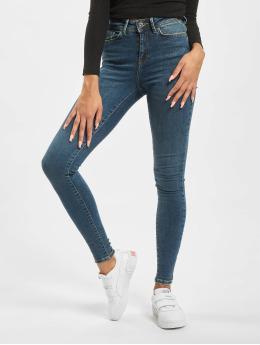 Noisy May Skinny jeans nmVicky Normal Waist blauw