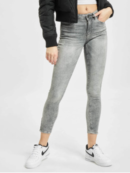 Noisy May Skinny Jeans nmKimmy Nw Ankl grau