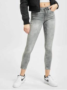 Noisy May Skinny Jeans nmKimmy Nw Ankl grau