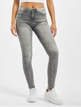 Noisy May Skinny Jeans nmLucy  grau