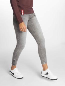 Noisy May Skinny jeans nmKimmy grijs