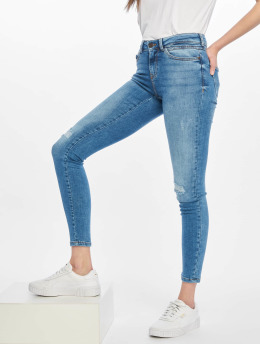 Noisy May Skinny Jeans nmLucy modrý