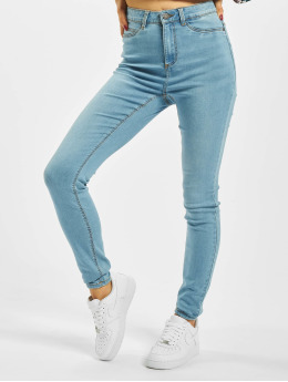 Noisy May Skinny Jeans nmCallie Hw modrý