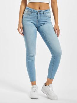 Noisy May Slim Fit Jeans nmLucy  modrá