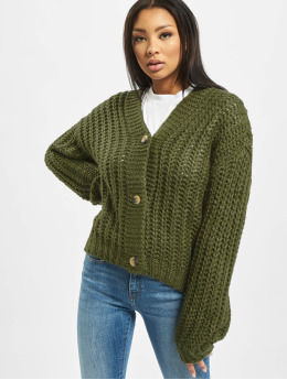 Noisy May Strickjacke nmSteve olive