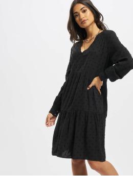 Noisy May Sukienki nmDobby V-Neck czarny
