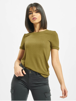Noisy May T-Shirt nmAvery  khaki