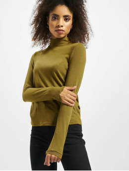 Noisy May T-Shirt manches longues nmAvery Knit kaki