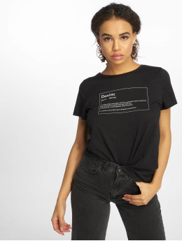 Noisy May T-Shirt nmNateure Dictionary noir