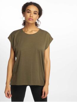 Noisy May t-shirt nmMathilde olijfgroen