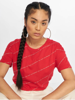 Noisy May T-Shirt nmAlfred Risk Taker rouge