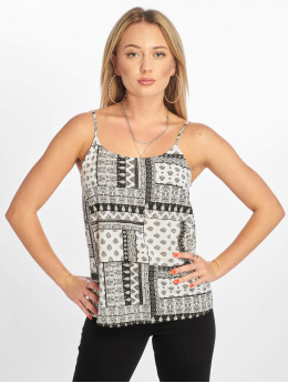 Noisy May Tops nmMia Magic Singlet Viscose bezowy