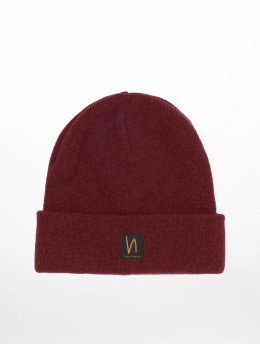 Nudie Jeans Beanie Liamsson rot