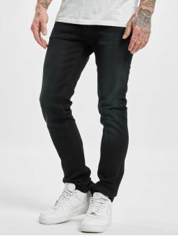Nudie Jeans Dżinsy straight fit Grim Tim niebieski