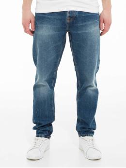 Nudie Jeans Dżinsy straight fit Steady Eddie Ii niebieski