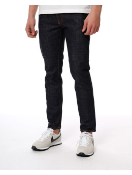 Nudie Jeans Jogginghose  blau