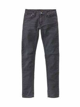 Nudie Jeans Jogginghose  schwarz