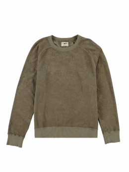 Nudie Jeans Pullover Samuel Terry grün