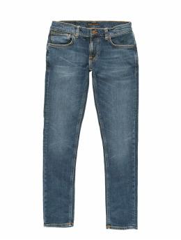 Nudie Jeans Slim Fit Jeans Tight Terry blå