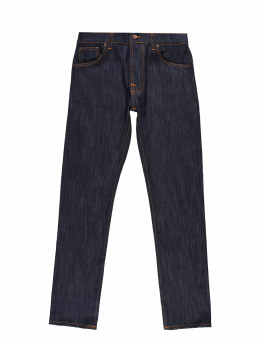 Nudie Jeans Slim Fit Jeans Thin Finn Slim Fit blau