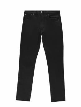 Nudie Jeans Slim Fit Jeans Lean Dean schwarz