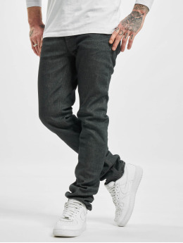 Nudie Jeans Straight Fit Jeans Grim Tim grau