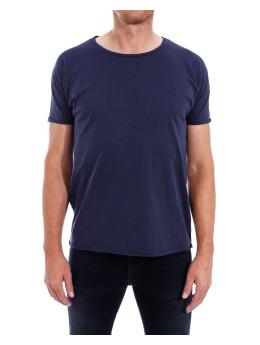 Nudie Jeans T-Shirt  blau
