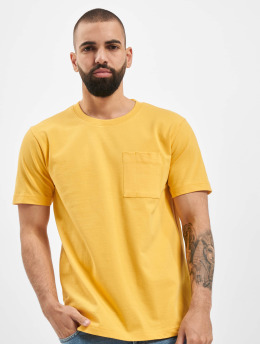 Nudie Jeans T-Shirt Basic  gelb