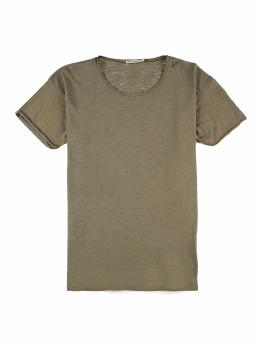 Nudie Jeans T-Shirt Roger Slub grün