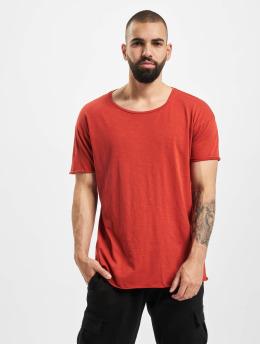 Nudie Jeans T-Shirt Roger Slub rot
