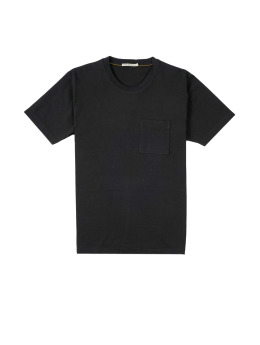 Nudie Jeans T-Shirt Basic schwarz