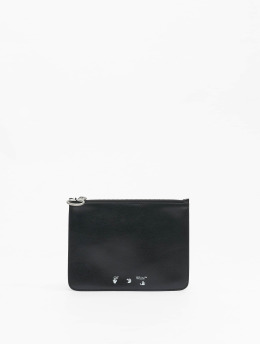 Off-White Bag OW Logo Flat Pouch black
