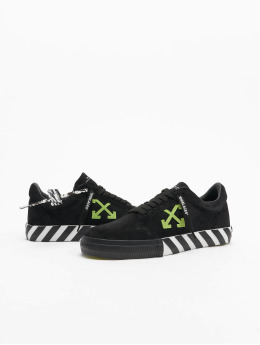Off-White Baskets Low Vulcanized Cow Suede noir