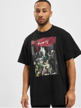 Off-White Camiseta Caravag Painting S/S Over  negro