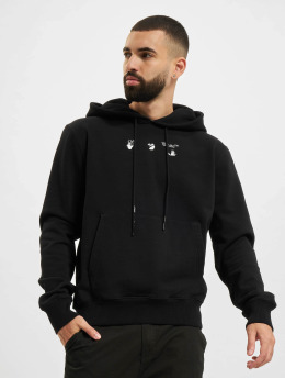 Off-White Hoody Bolt Arrow Slim schwarz