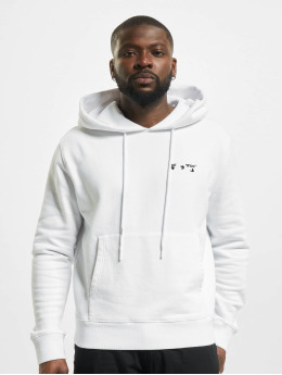 Off-White Hoody Logo Slim weiß