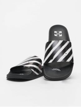 Off-White Japonki Spray Stripes czarny