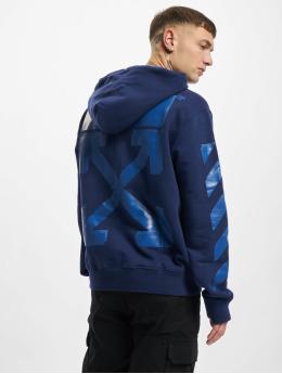 Off-White Mikiny Rubber Arrow Slim modrá