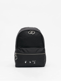 Off-White Plecaki Nylon Mini czarny
