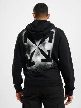 Off-White Pullover Stencil schwarz