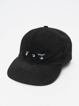 Off-White Snapback Caps Logo Baseball musta