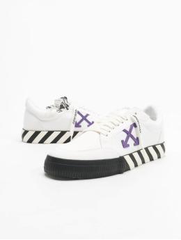Off-White Sneakers Low Vulcanized Canvas biela