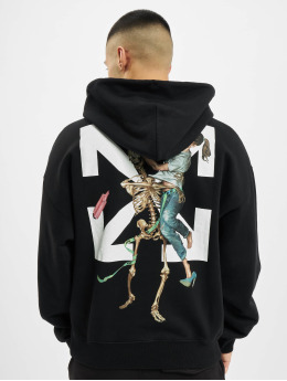 Off-White Sweat capuche Pascal Skeleton Ove noir