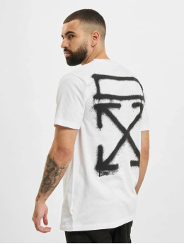 Off-White T-paidat Spray Marker valkoinen