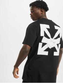 Off-White T-shirt Agreement S/S nero
