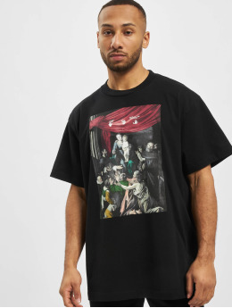 Off-White T-shirt Caravag Painting S/S Over  nero