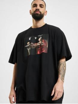 Off-White T-Shirt Caravaggio Over noir